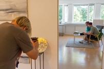 Intervju med konstnären Tero Annanolli augusti 2018